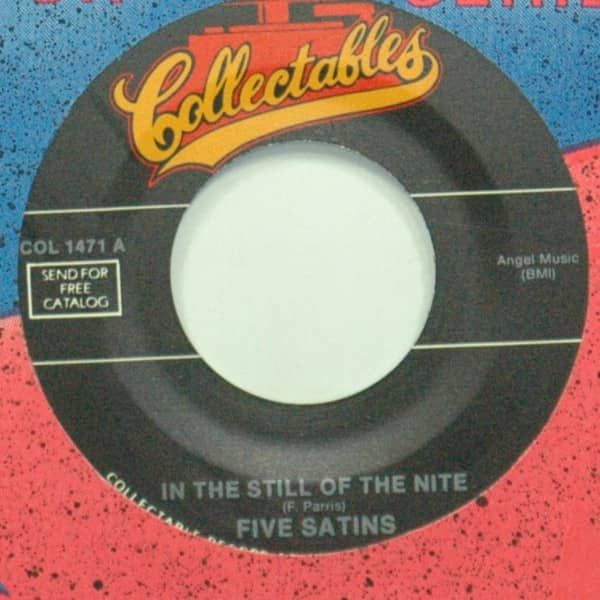 In The Still Of The Nite b-w The Jones Girl 7inch, 45rpm