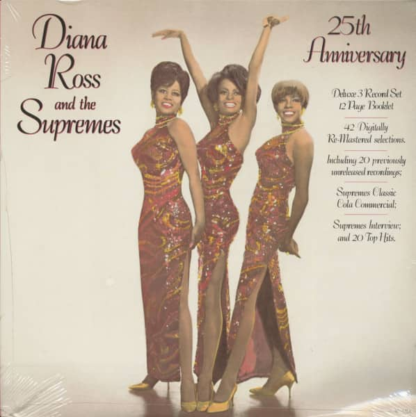Diana Ross & The Supremes - 25th Anniversary (3-LP)