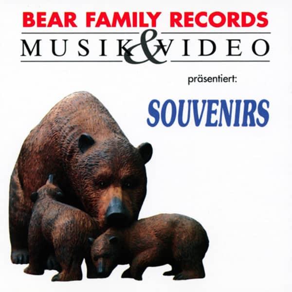 Va Bear Family Sampler - Souvenirs