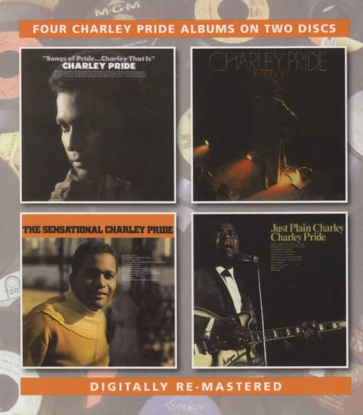Sensational C.P. - Songs Of Pride - In Person - Just Plain Charley (2-CD)