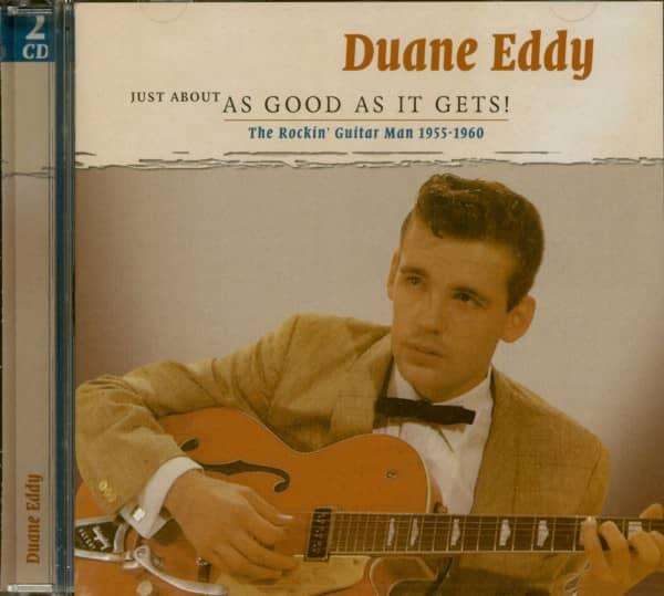 Eddy, Duane The Rockin' Guitar Man 1955-1960 (2-CD)