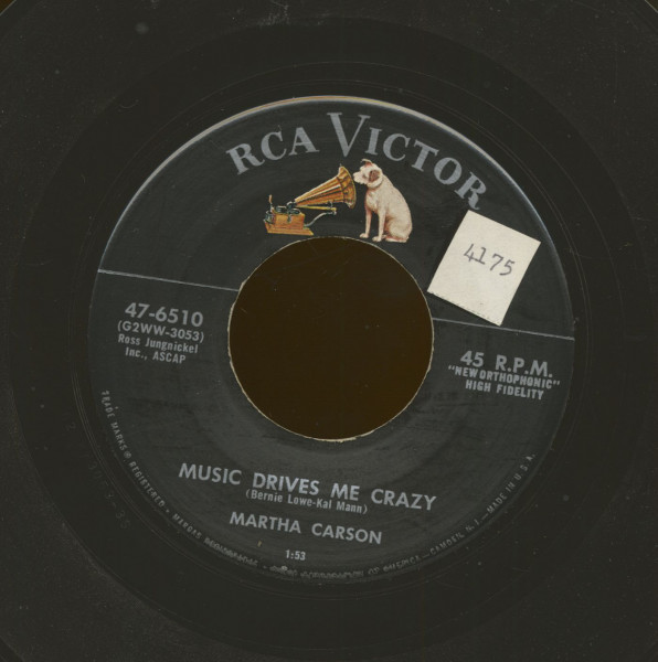 Music Drives Me Crazy - Dixieland Roll (7inch, 45rpm)