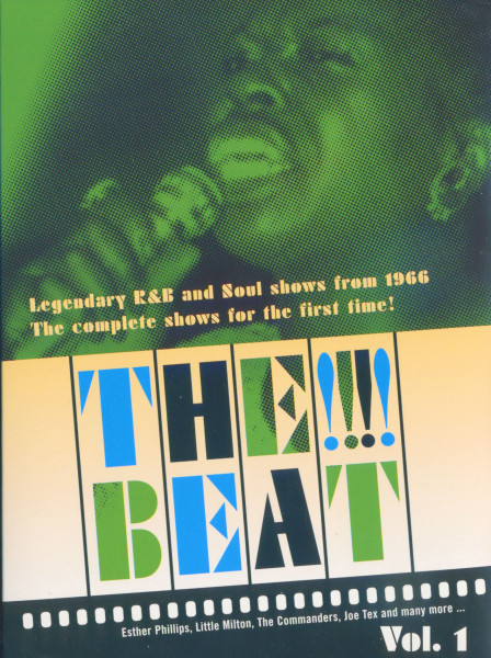 Vol.1, (DVD) Legendary R&B and Soul Shows from 1966