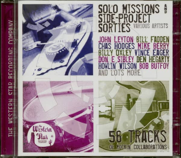 Solo Missions & Side Project Series (2-CD)