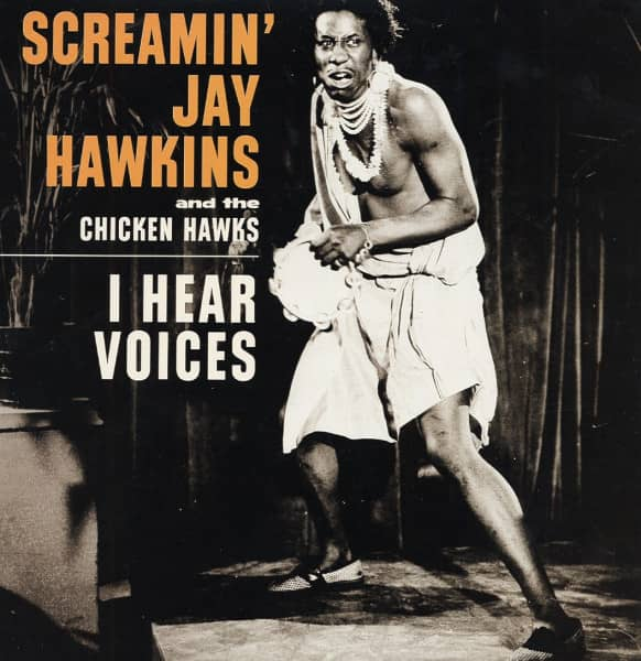 Screamin' Jay Hawkins & The Chicken Hawks - The Clovertones, feat. Esquerita (7inch, 45rpm, PS)