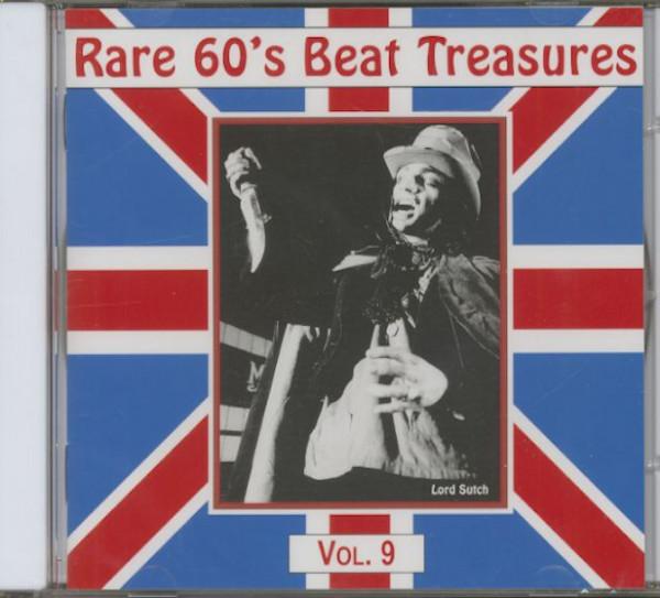 Rare 60's Beat Treasures, Vol.9 (CD)