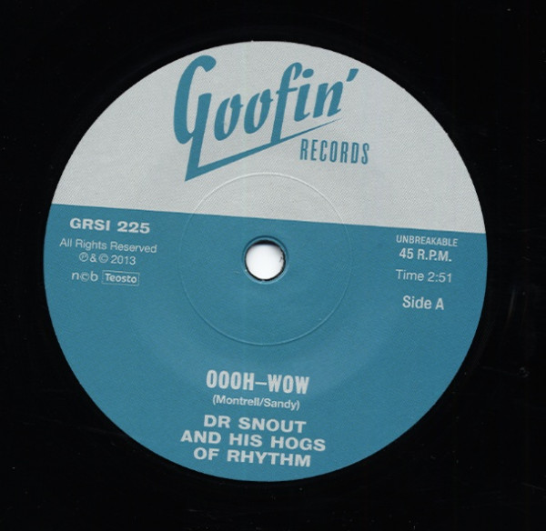 Oooh-Wow b-w Sad As A Man Can Be 7inch, 45rpm, SC