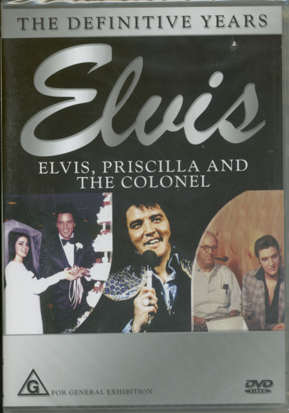 Elvis - Elvis And Priscilla & Elvis And The Colonel (DVD)