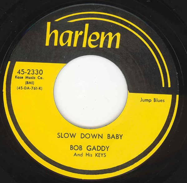 Slow Down Baby - Blues Has Walked In My Room