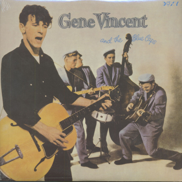 Gene Vincent & The Blue Caps (LP, 200g Vinyl)