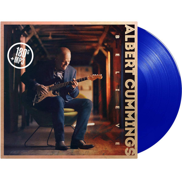 Believe (LP 180g Vinyl, Blue Transparent +MP3)