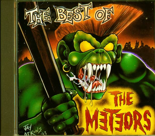 The Best Of The Meteors (CD)