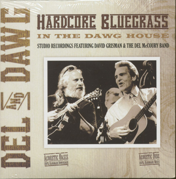 Del And Dawg - Harcore Bluegrass - In The Dawg House (CD)