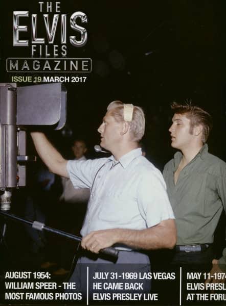 The Elvis Files Magazine #19-March 2017