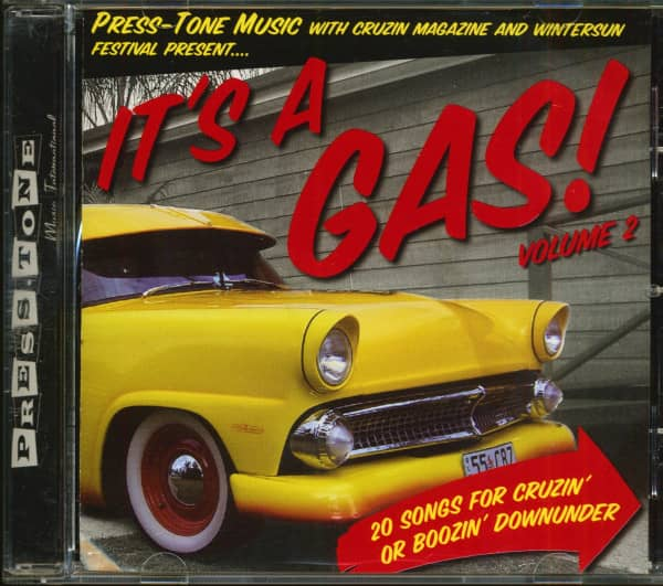 It's A Gas! Vol.2 - 20 Songs For Cruisin' Or Boozin' Downunder (CD)