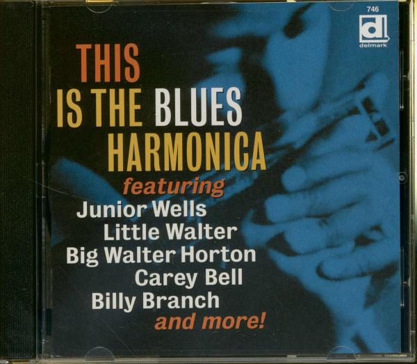 Va This Is The Blues Harmonica Vol. 1