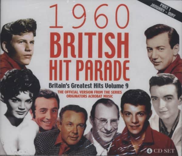 1960 British Hit Parade, Vol.1 (4-CD)