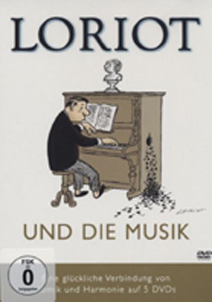 Loriot Loriot und die Musik (5-DVD)