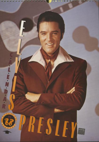 Elvis Presley - 1988 Atalanta Calendar