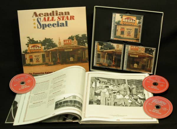 Acadian All Star Special (3-CD Deluxe Box Set)