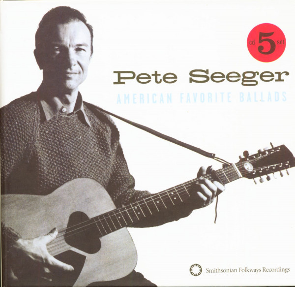 Seeger, Pete American Favorite Ballads (5-CD)