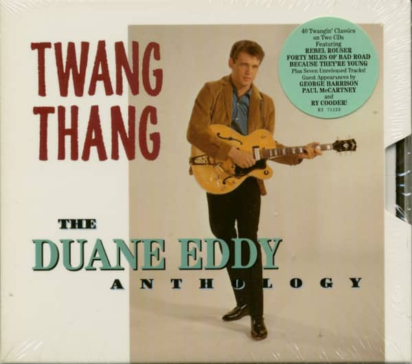 Twang Thang - The Duane Eddy Anthology (2-CD)