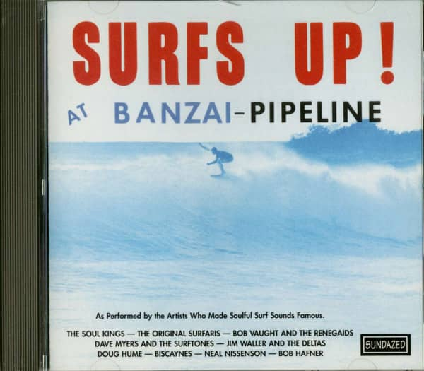 Surf's Up At Banzai Pipeline