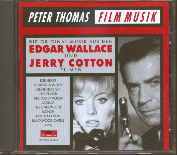 Die original Musik aus den Edgar Wallace und Jerry Cotton Filmen (CD)