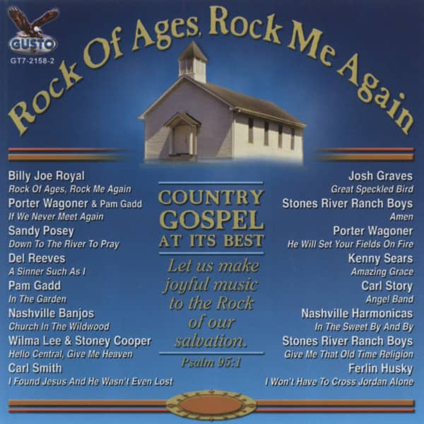 Rock Of Ages, Rock Me Again - Country Gospel