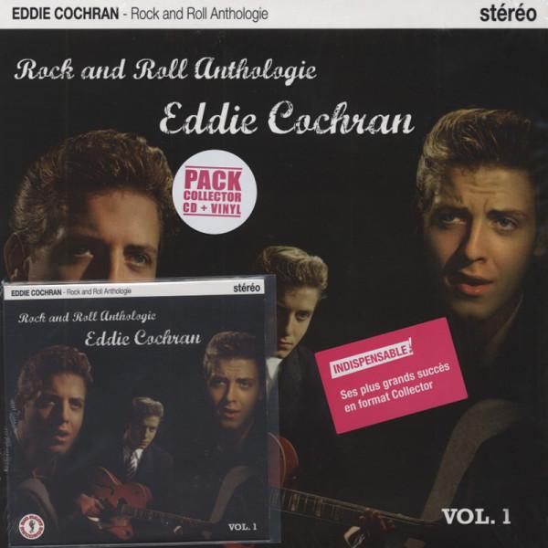 Cochran, Eddie Rock And Roll Anthologie (25cmLP&CD) Limited