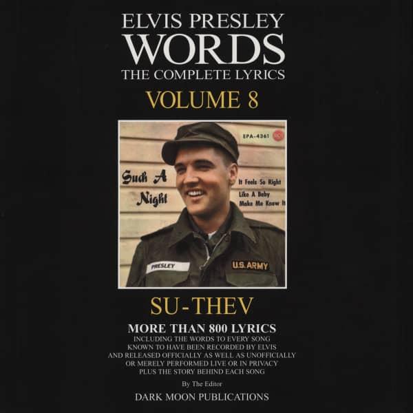 Words - The Complete Lyrics Vol.08 SU-THEV