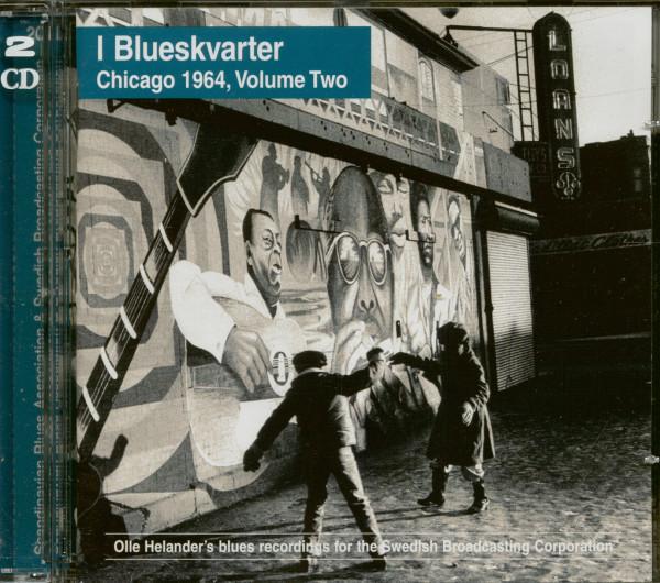 I Blueskvarter - Chicago 1964 Vol.2 (2-CD)
