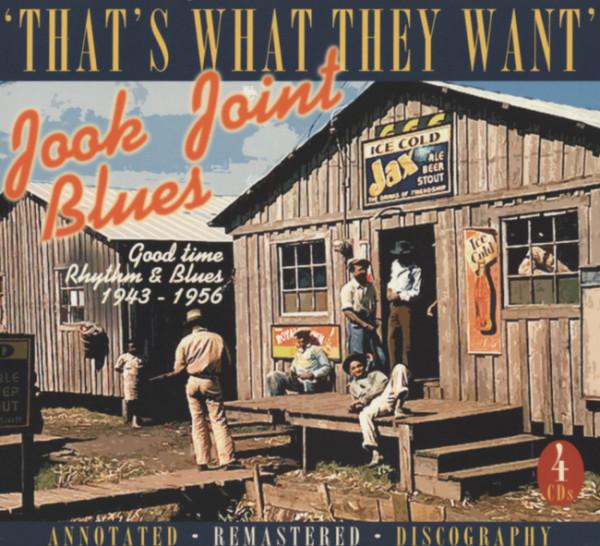 Va Jook Joints Blues (4-CD Box)