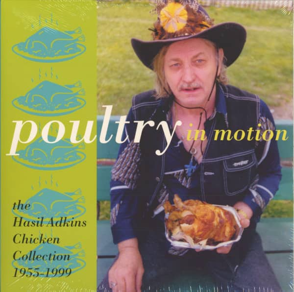 Poultry In Motion - The Hasil Adkins Chicken Collection 1955-99 (LP)