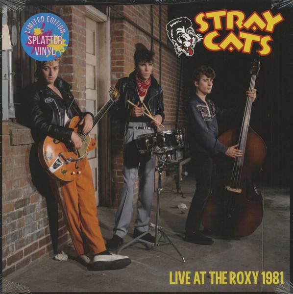 Live At The Roxy 1981 (LP, Splatter Vinyl, Ltd.)