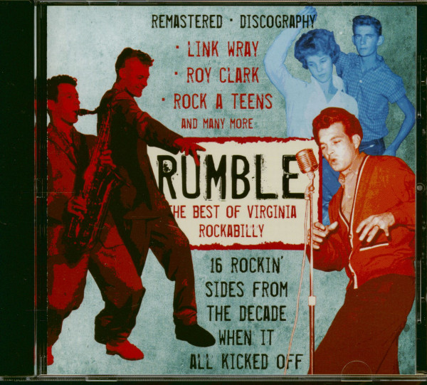 Rumble - The Best Of Virginia Rockabilly (CD)