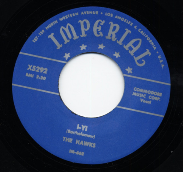 I-Yi b-w When The Saints Go Marching in Boogie 7inch, 45rpm