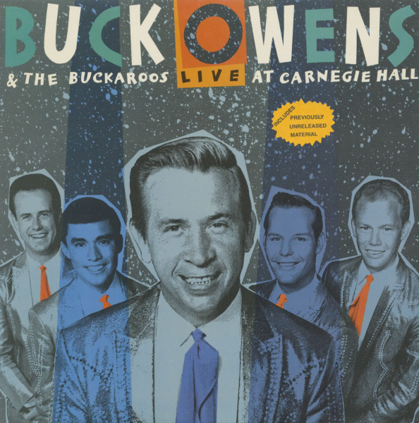 Buck Owens & The Buckaroos - Live At Carnegie Hall (LP)