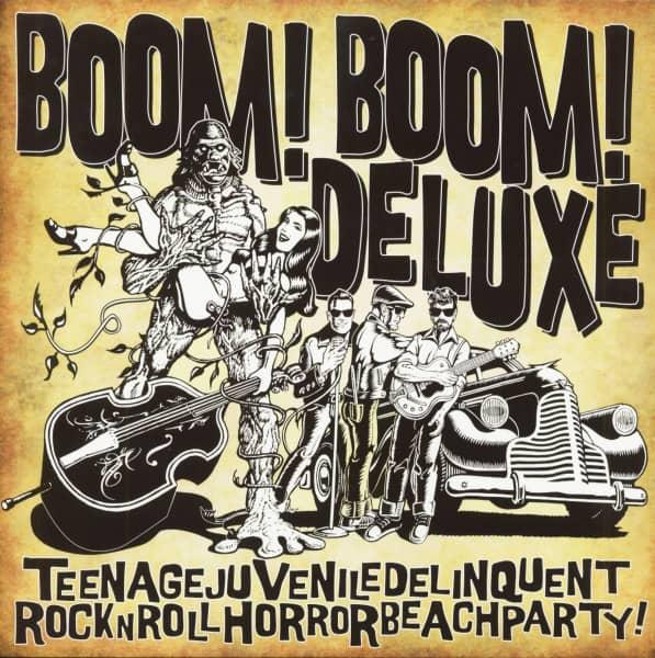 Teenagejuveniledelinquentrocknrollhorrorbeachparty (LP)