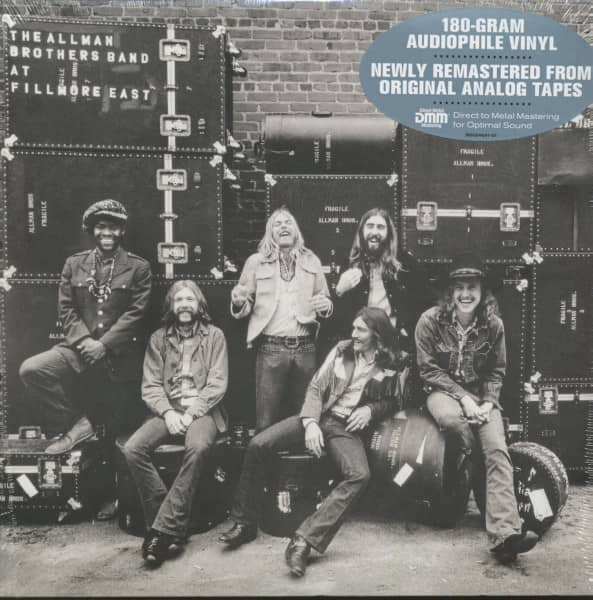 The Allman Brothers Band At At Fillmore East (2-LP, 180g Vinyl)