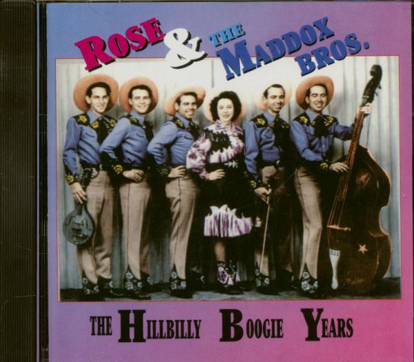 The Hillbilly Boogie Years (CD)