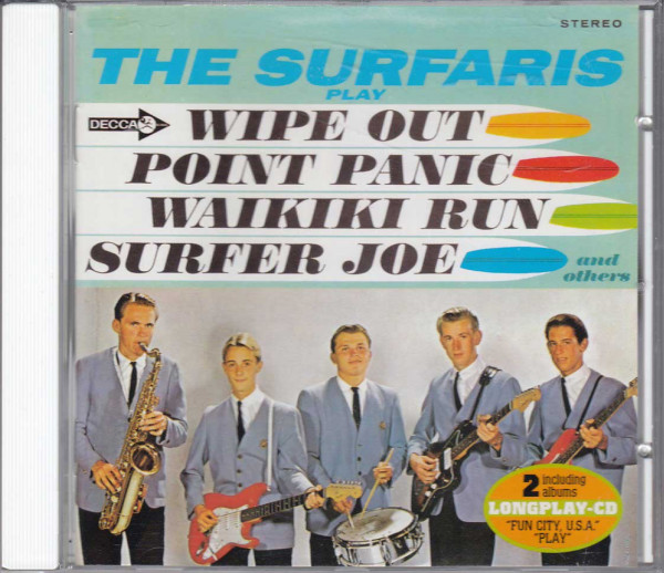 Fun City, USA - The Surfaris Play Wipe Out! (CD)
