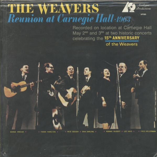 Reunion At Carnegie Hall 1963 (LP, Ltd Edition)
