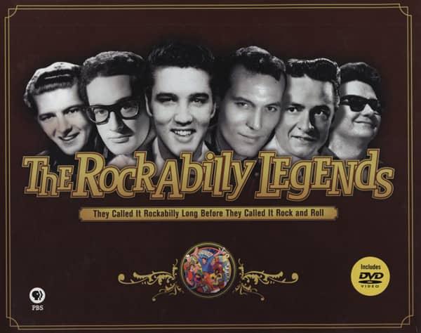 The Rockabilly Legends - Jerry Naylor & Steve Halliday
