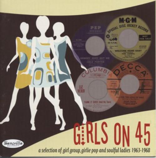 Va Girls On 45 (Girl Groups, Pop, Soul 1963-68)