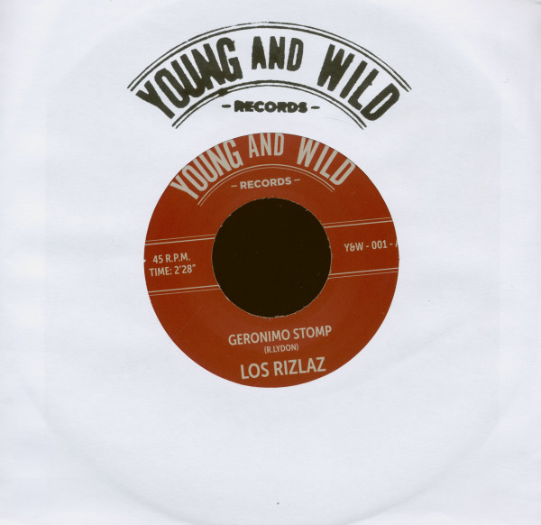 Geronimo Stomp - Sour Mash (7inch, 45rpm)