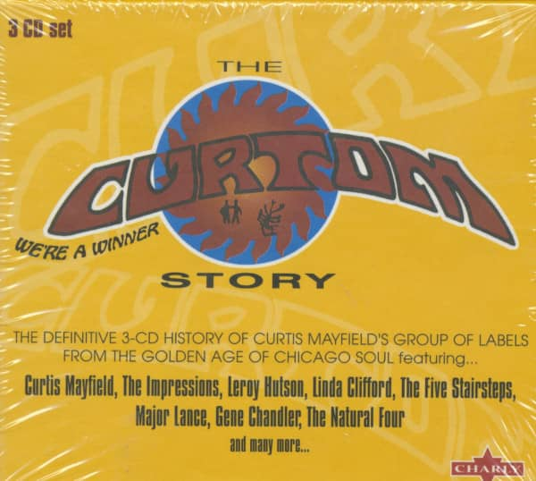 The Curtom Story (3-CDBox)