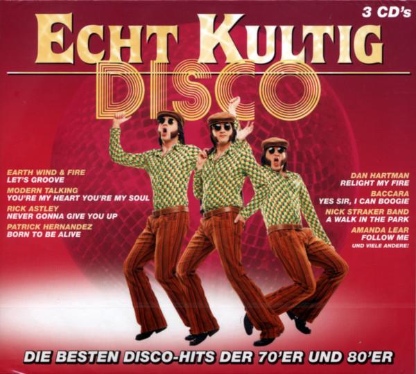 Echt Kultig - Disco-Hits der 70er & 80er (3-CD)