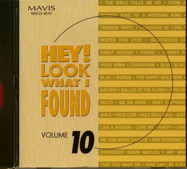 Hey! Look What I Found Vol.10 (CD)