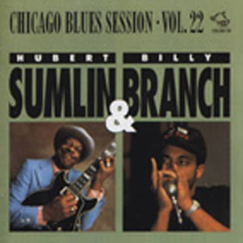 Sumlin, Hubert & Billy Branch Chicago Blues Session Vol.22